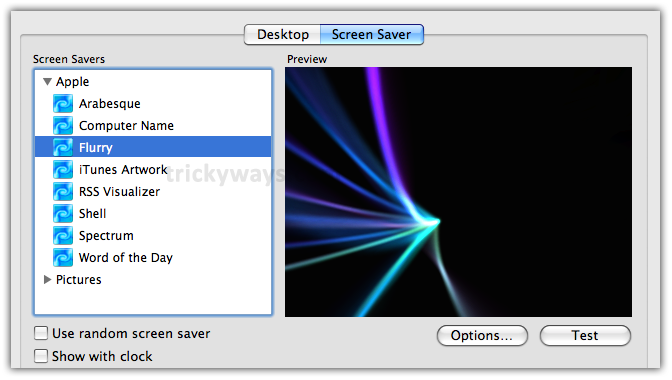 02-select-screen-saver-from-list