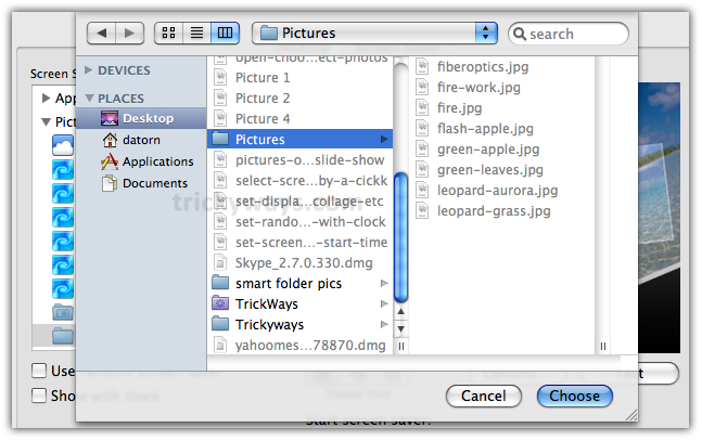 14-select-pictures-folder-from-computer-click-chose