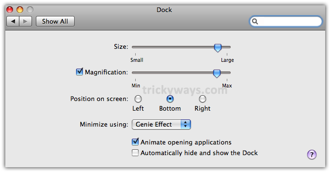 03-change-dock-settings