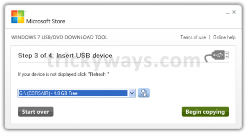 how to create bootable windows 7 usb from iso