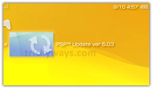 psp update version 6.30