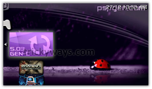 Install custom firmware 5. 03 gen-c on psp 3000, 2000 ta-088v3 via.