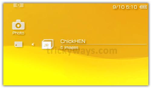 Install chickhen r2 on psp | run chickhenr2 on psp 3000, 2000, 1000.