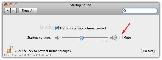 How to Mute Startup Sound on Mac \u2013 Mac OS X