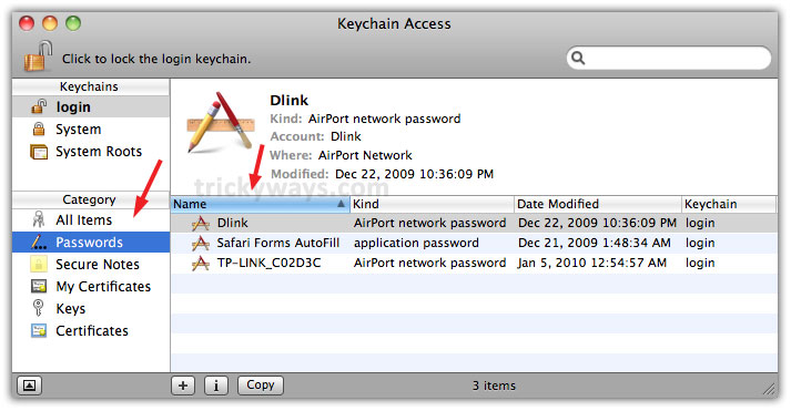 Recover Forgotten Passwords from Keychain Access Utility ...