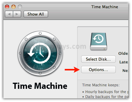 how to create time machine mac