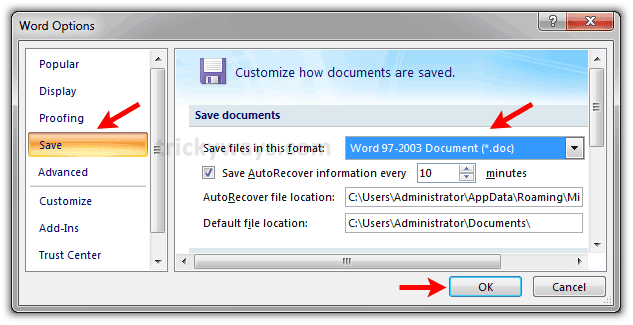 how to open xlsx file in ms office 2010
