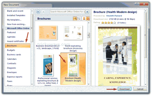 Doc770477 Free Brochure Templates for Word 2007 Free Brochure – Free Brochure Templates for Word to Download