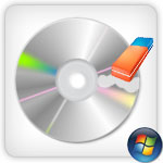 Erase rewritable cd or dvd in Windows 7