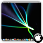 Screensaver background mac