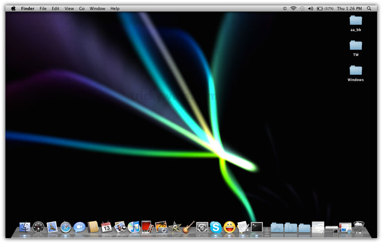 set screensaver as background on mac screensaver mac os x