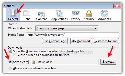 Change Default Download Location Firefox | Firefox Download