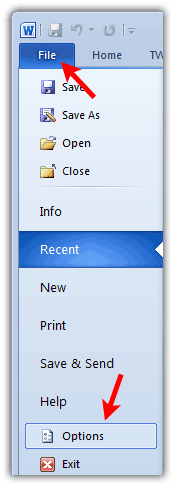 Disable Background Image Printing In Word 2010 2007