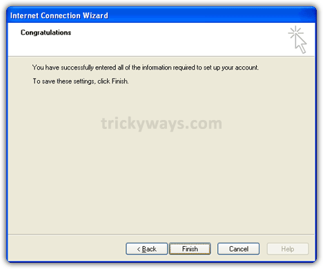 Account setup wizard outlook 2007 7
