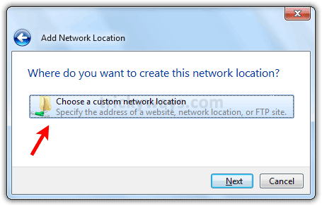 choose-a-network-location