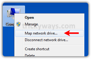 map-network-drive