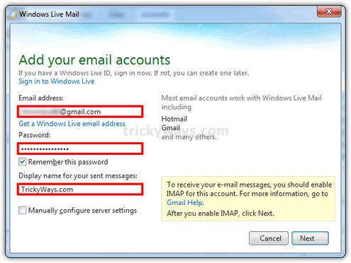 add-gmail-account-windows-live-mail-2011