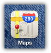 iPhone Map icon