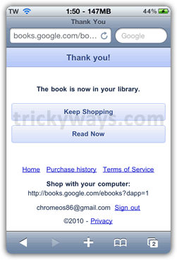 Read Google Books