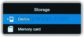 Camera storage location Galaxy Tab