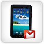 Gmail on Samsung Galaxy Tab