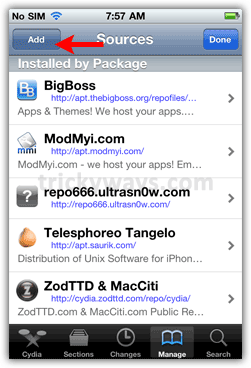 Cydia add source