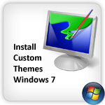 Install custom themes windows 7
