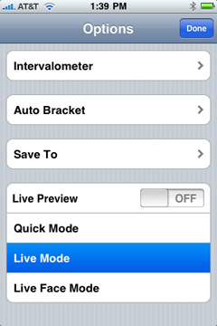 Control DSLR Camera by means of  iPhone, iPod Touch or iPad | Downloads