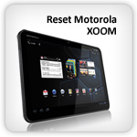 Reset Motorola XOOM to factory settings
