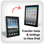 Transfer data iPad to iPad