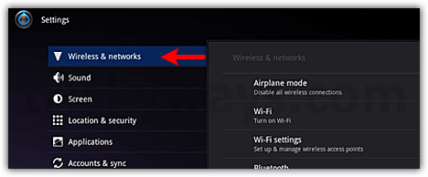 Connect to WiFi on Motorola XOOM | Android