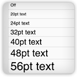 How to Make Text Larger in Mail and Notes Apps on iPad 2 | iPad