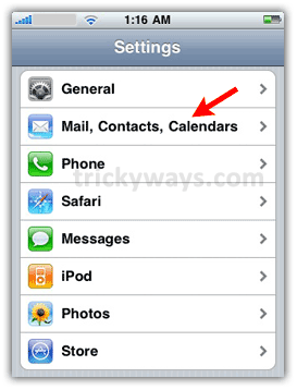 How to Change Default Outgoing Mail Account on iPhone | iPhone