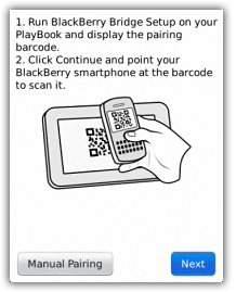 How to Setup BlackBerry Bridge and use Smartphone Apps on