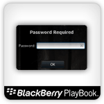 Playbook password