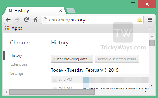 clear-chrome-history