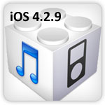 The iOS 4.2.9 update fixes the PDF vulnerability issue which is used