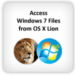 Access PC Windows 7 Files From Mac OS X Lion