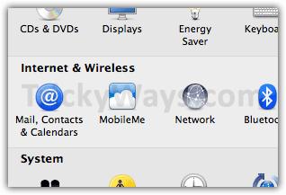 OS X Lion System Preferences