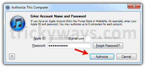 How to Authorize or Deauthorize Your Computer as of  iTunes | iPad