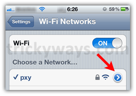 how to change ip address on iphone wifi