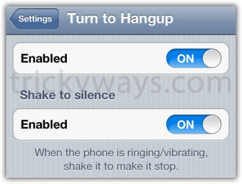 Dismiss Incoming iPhone Calls with Turn to Hangup [Cydia Tweak