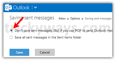 don-not-save-sent-messages-in-outlook