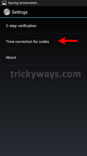 google-authenticator-settings-screen