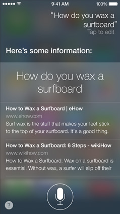 ios 7 siri ask