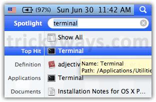 terminal-on-mac