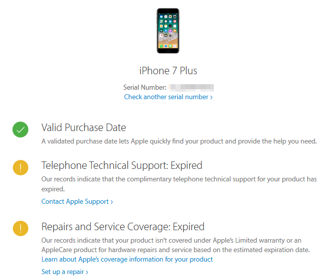 warranty-service-and-support-coverage-status
