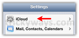 iPhone-settings