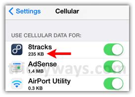 track-data-usage