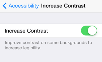 increase-contrast-on-ios7